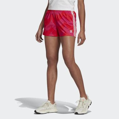 Kvinder Originals Rød Marimekko shorts