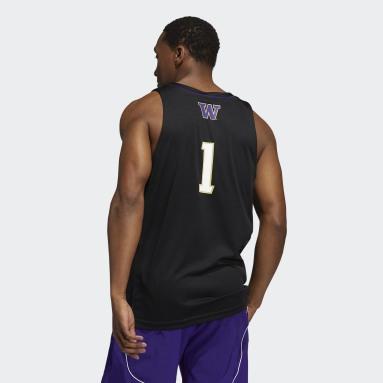 Men's Basketball Black Huskies NCAA Swingman Jersey