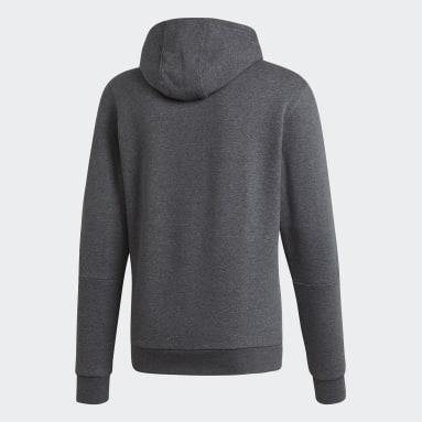 Men Sportswear Grey Hoodie