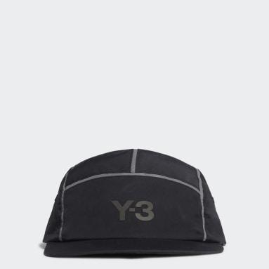 Y-3 Μαύρο Y-3 Ref 5-Panel Cap