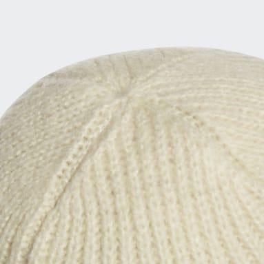 Bonnet Cuff blanc Femmes Entraînement