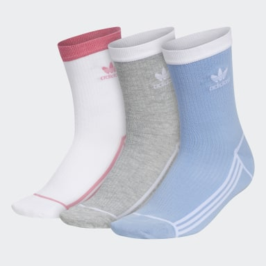 Women's Originals Blue Sport Mid-Crew Socks 3 Pairs