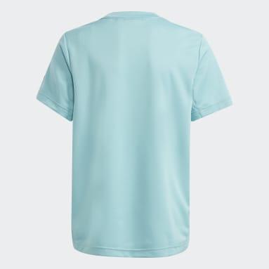 Camiseta HEAT.RDY Sport Verde Niño Gimnasio Y Entrenamiento
