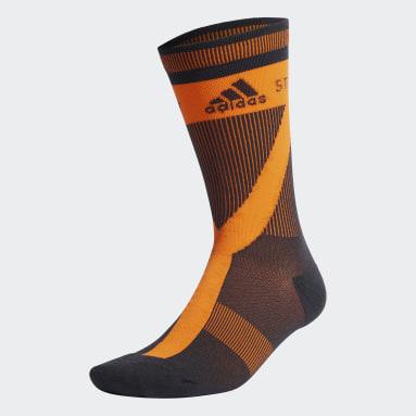 оранжевый Носки adidas by Stella McCartney