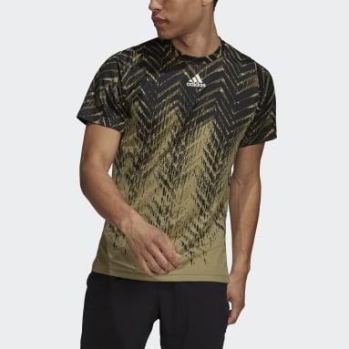T-shirt de Ténis Primeblue Freelift Verde Homem Ténis