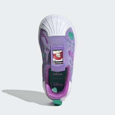 Zapatillas Superstar 360 Disney Gris Niño Originals
