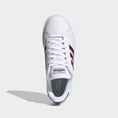Zapatillas adidas Grand Court Blanco Mujer Diseño Deportivo