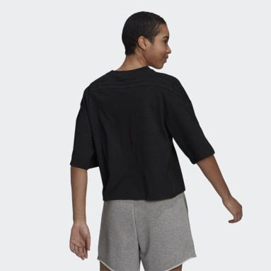 Women's Sportswear Black adidas Sportswear Future Icons 3-Stripes Tee