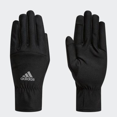 черный Перчатки для бега COLD.RDY