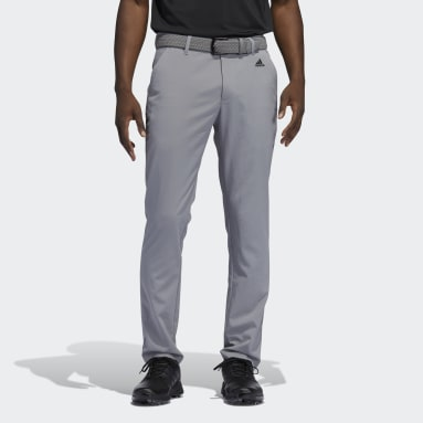 Men Golf Grey Recycled Content Tapered Golf Pants