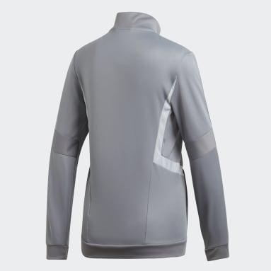 Women's Soccer Grey Tiro 19 Training Jacket