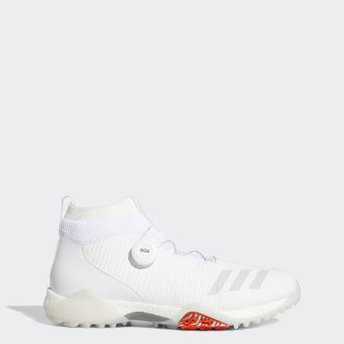 ผู้ชาย กอล์ฟ สีขาว รองเท้ากอล์ฟ CodeChaos Boa