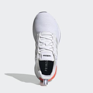 Men's Essentials White Racer TR21 Wide Shoes
