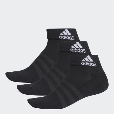 Tennis Black Cushioned Ankle Socks 3 Pairs