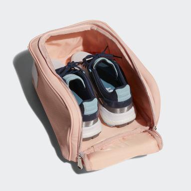 ผู้หญิง กอล์ฟ สีชมพู กระเป๋ารองเท้า