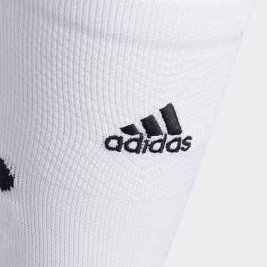 Football White Adizero Football Cushioned Crew Socks