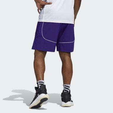 Men's Basketball Purple Huskies NCAA Swingman Shorts
