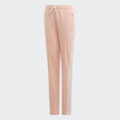 High-Waisted Pants Różowy