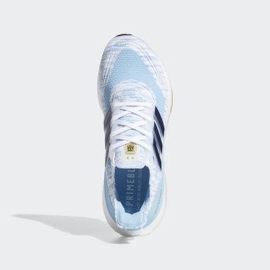 Running White Ultraboost 21 Copa America Shoes