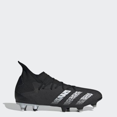 Botas de Futebol Predator Freak.3 – Piso mole Preto Futebol