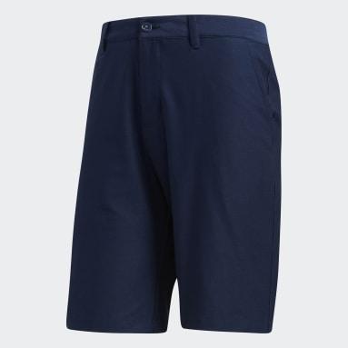 Men Golf Blue Adipure Tech Shorts