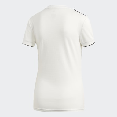 Jersey Real Madrid Local 2018 Blanco Mujer Fútbol