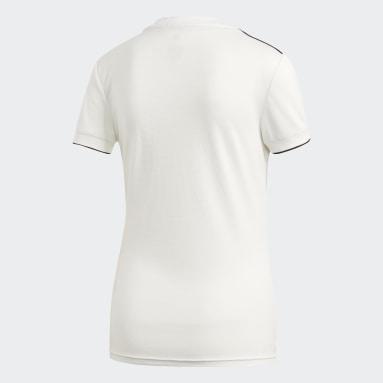 Maillot Real Madrid Domicile Blanc Femmes Football