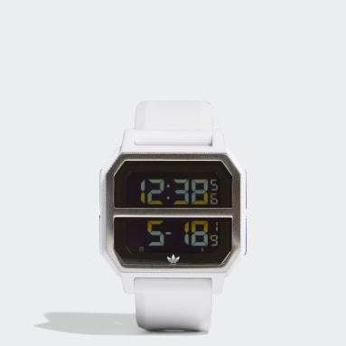 Reloj Archive_R2 Blanco Originals