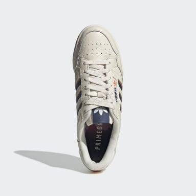 Scarpe Continental 80 Stripes Bianco Uomo Originals