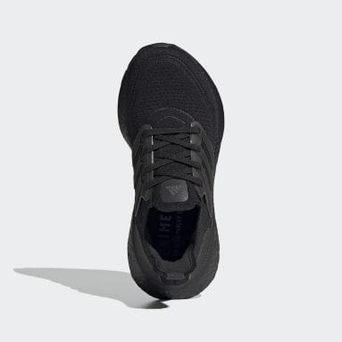Chaussure Ultraboost 21 noir Adolescents Course