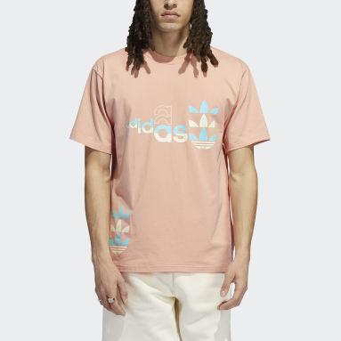 Camiseta de manga corta Logo Play Rosa Hombre Originals