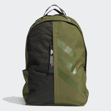 Volleyboll Grön Classic 3-Stripes at Side Backpack