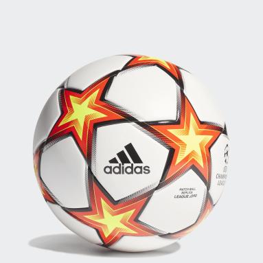 Fodbold Hvid UCL League Junior 290 Pyrostorm bold