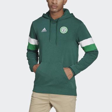 Felpa con cappuccio Celtic FC Verde Uomo Calcio