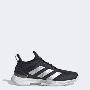 Women Tennis Black Adizero Ubersonic 4 Tennis Shoes