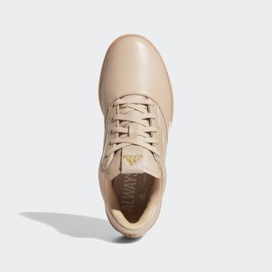 Women Golf Beige Adicross Retro Spikeless Shoes