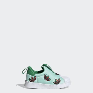 Infants Originals Turquoise Superstar 360 Shoes