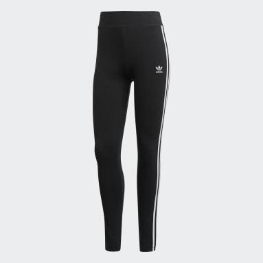 Women Originals Black adidas Adicolor 3-Stripes Tights
