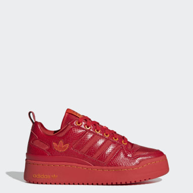 Chaussure Forum Bold rouge Femmes Originals