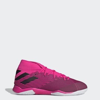 Men's Soccer Pink Nemeziz 19.3 Indoor Shoes