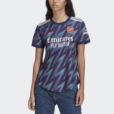 Women Football Blue Arsenal 21/22 Third Jersey