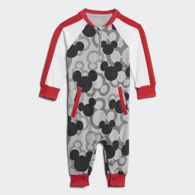 Tuta Disney Mickey Mouse Grigio Bambini Fitness & Training