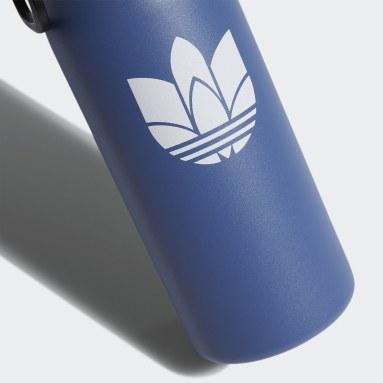 Training Blue Steel Metal Bottle 1L