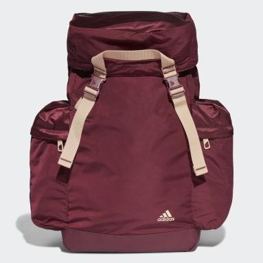Women's Training Burgundy Sports Backpack