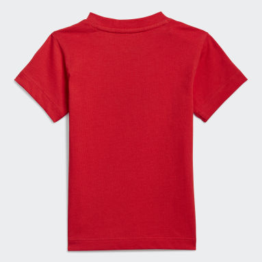 T-shirt adidas SPRT Collection Graphic Rosso Bambini Originals