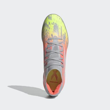 Football Grey X Speedflow.3 Turf Boots
