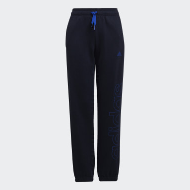 Pantaloni Essentials French Terry Blu Ragazzo Sportswear
