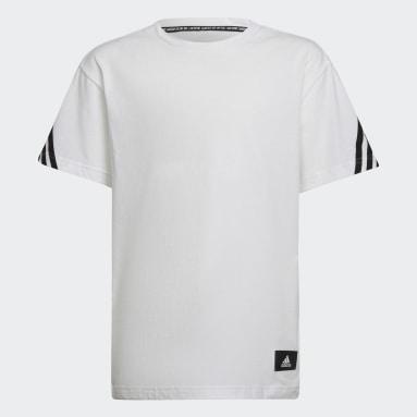 Future Icons 3-Stripes T-skjorte Hvit