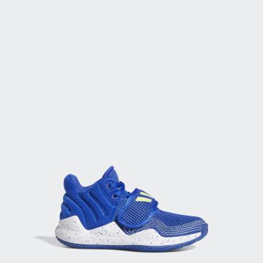 Chaussure Deep Threat Primeblue Bleu Enfants Basketball