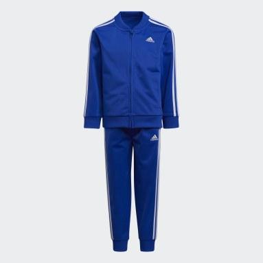 Children Training Blue Classic Tricot Track Suit